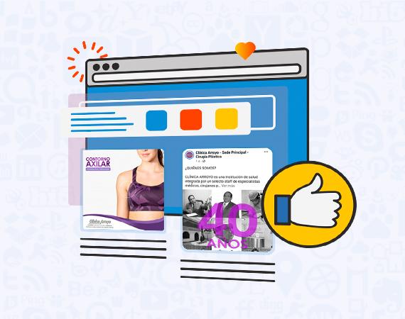 Diseño de Contenidos para Redes Sociales para Clínicas Arroyo